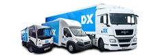 DX (Group) plc Delivered Exactly Parcel & Package Vehicles