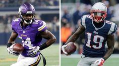 Vikings rookie Stefon Diggs is moving up our Week 8 fantasy football wide receiver rankings.