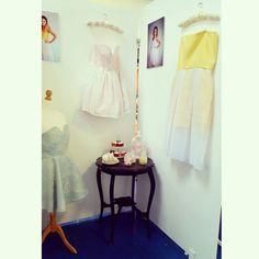 My display! #fashion #designer #pastel #love #candy #vintage #art #artwork #artist #skaterdress #love #photooftheday - by ciara Mcparland