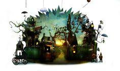 AlexanderJansson.com preciosas ilustraciones llenas de magia y creatividad