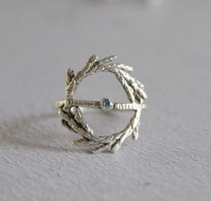 Sterling Silver Jewelry, Silver Ring, Wreath Rings, Leaf Ring, Delicate Rings, Coin Pendant, Star Necklace, Modern Bohemian, Nature Inspired