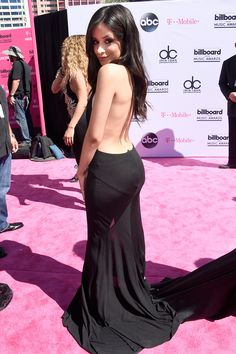 Camila Cabello of Fifth Harmony 2016 Billboard Music Awards Red Carpet at T-Mobile Arena on May 22 in Las Vegas.