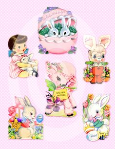 Easter Images for your own creations!