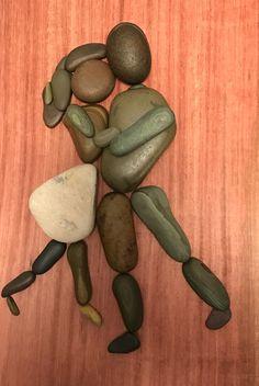Stone Crafts, Rock Crafts, Inspirational Rocks, Rock Sculpture, Sea Crafts, Rock And Pebbles, Diy Art Projects, Found Art, Rock Design
