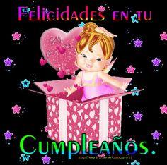 SUEÑOS DE AMOR Y MAGIA: Feliz Cumpleaños Birthday Qoutes, Funny Happy Birthday Wishes, Happy Birthday Images, Happy Birthday Cards, Birthday Greetings, Happy B Day, Get Well Cards, Birthdays, Holiday Decor