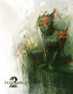 Guild Wars 2 | Sylvari Fanart by RyomaNinja