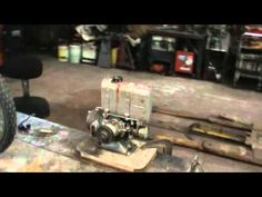 lets play with a small antique engine, power craft ah47