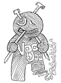 VooDoo doll (body too)