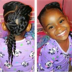 - All For New Hairstyles Lil Girl Hairstyles, Girls Natural Hairstyles, Natural Hairstyles For Kids, Kids Braided Hairstyles, Princess Hairstyles, Natural Hair Styles, Toddler Hairstyles, Teenage Hairstyles, School Hairstyles