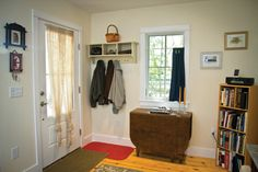 Front entrance for the Harbinger | Tumbleweed Tiny House Company