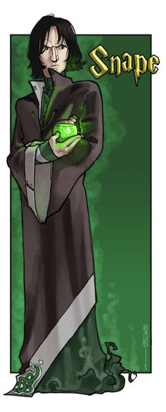 The Potions Master by aiwa on DeviantArt