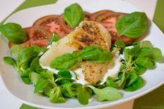 Limetten-Kabeljau mit Joghurtsauce auf Salat - Katha-kocht!