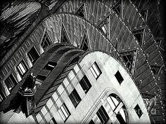 The Chrysler Building Photograph by James Aiken #chryslerbuilding #blackandwhitephotography #jamesaiken