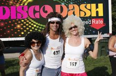 A groovy group of runners from last year's Disco Dash!