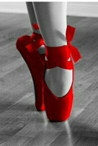 Red ballerinas...passion!!!