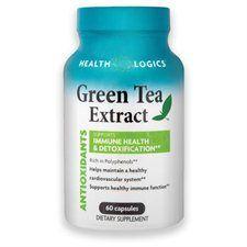 Green Tea Extract Supplement 60 Capsules