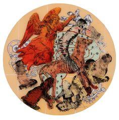 Chance I, 2009 Nalini Malani Nalini Malani, Indian Artist, Contemporary Artists, Rooster, Artworks, Foundation, Layers, Objects, Museum