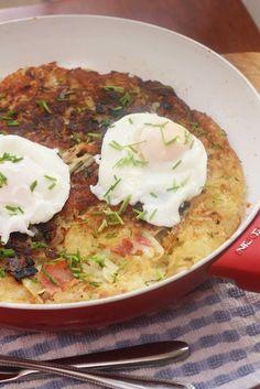 Giant Cheddar & Bacon Rösti Recipe on Yummly. @yummly #recipe