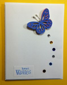 Butterfly with Best Wishes