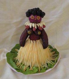 Pin on Tvoří ve darky Lemon Jello, Aloha Party, Creative Food Art, Edible Crafts, Salty Cake, Food Decoration, Easter Holidays, Fruit Art, Summer Picnic