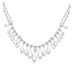 Nakshatra Diamond Jewellery - offering Nakshatra Diamond Necklace, Heere Ka Haar,Diamonds & Diamond Jewels in Mumbai, Maharashtra. Moissanite Necklace, Indian Jewelry, Diamond Jewelry, Wedding Day, Jewels, Bridal, Stylish, Rings, Collections