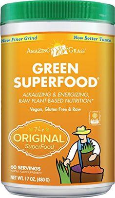 Amazing Grass Green SuperFood, 60-Servings, 17-Ounce Tub Amazing Grass http://www.amazon.co.uk/dp/B0038B3AAK/ref=cm_sw_r_pi_dp_K1rewb00ZSTR4