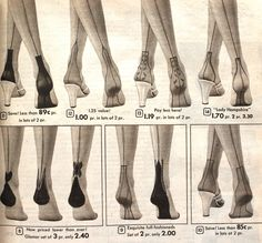 db360191ecc 1950s Stockings and Nylons History   Shopping Guide. 1950s Style TopsFully  Fashioned ...