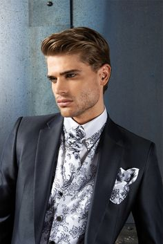 #CleofeFinati  by Archetipo 2015 Men's Collection - Suits Mod. 15.1180 b01 - fabric 1309/94