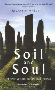 Soil and Soul - People versus Corporate Power - LOVED this sustainability book.  #affiliatelink