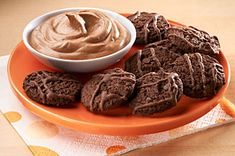 Double Chocolate Cookie Dippers Mousse