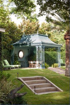 Pavilion Wrought iron Verdi