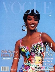 Naomi Campbell for VOGUE