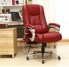 Comfortable Massage Ergonomic Executive Office Chair Lying Computer Leisure Adjustable Chair Swivel Lifting sedie ufficio