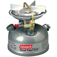 Coleman 1-Burner Dual Fuel Sporter II Liquid Fuel Stove by Coleman, http://www.amazon.com/dp/B0009PUQAU/ref=cm_sw_r_pi_dp_ybXFpb0224NK9
