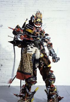 RAMMELLZEE- Copyright The Estate of Rammellzee, Courtesy the Suzanne Geiss Company, New York (1)