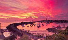 Wollongong Harbour Sunrise