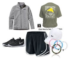 """""""lazy day"""" by hollere on Polyvore featuring NIKE, Patagonia and Vineyard Vines"""