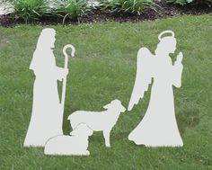 Medium Angel, Shepherd, Sheep Add-On