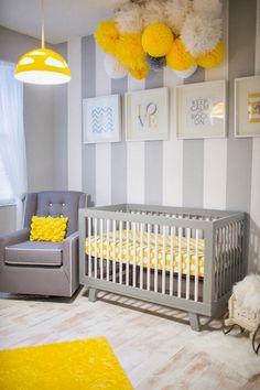 chambre bébé jaune et gris - Recherche Google