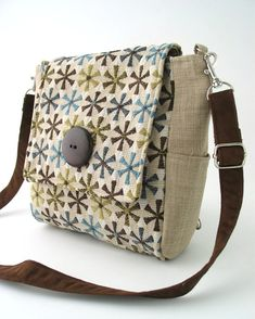 purse backpack converts to messenger or tote bag by daphnenen
