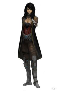 character concept 5 by madspartan013.deviantart.com on @deviantART
