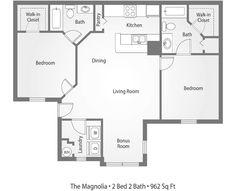 10 Apartments Ideas Floor Plans Apartment Tallahassee