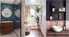 Salle de bains : 12 façons de la relooker avec moins de 100 € Inside Outside, Mirror, Furniture, Home Decor, Home, Decoration Home, Room Decor, Mirrors, Home Furnishings