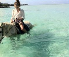 You can actually do this in Ibiza. Swim with horses as they call it - THIS IS GOING ON THE AGENDA.