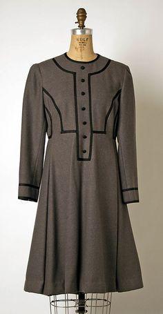 Geoffrey Beene Wool Dress, 1968-69