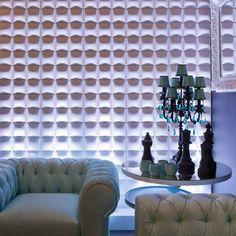 Paneles decorativos para muros WallArt 3D en www.decokarq.cl Bienvenidos a WallArt, conoce nuestros diseños exclusivos y comienza a darle vida a tus paredes!
