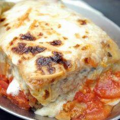 Spenótos lasagne sajtmártással