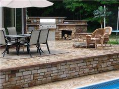 Outdoor Living, Patio, Pool Deck  Concrete Patios  Cornerstone Concrete Designs  Orrville, OH