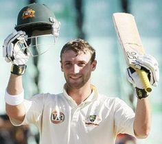 Phillip Hughes scores his second hundred of the match, South Africa v Australia, 2nd Test, Durban, 3rd day, March 8, 2009