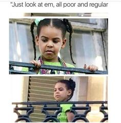 Blue Ivy is a snob